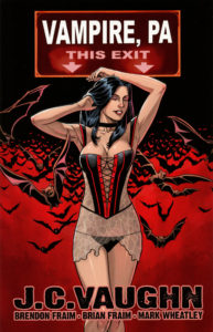 Our cover to the Trade Paperback