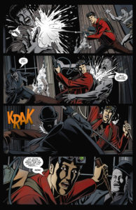 Sample page of the original series!