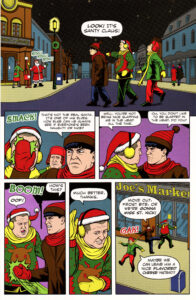 Sample Page from MERRY STOOGEMAS