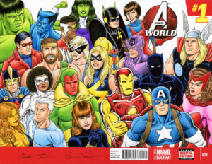 Avengers Sketch Cover