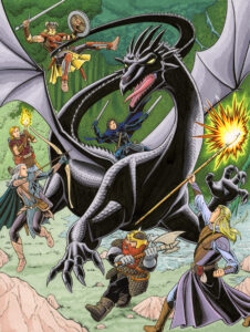 RPG Group battle Black Dragon