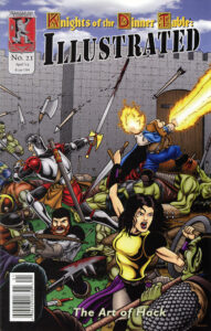 The cover for issue 21.