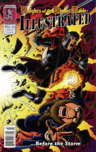 The cover for issue 23.