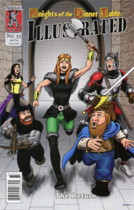 The cover for issue 33.
