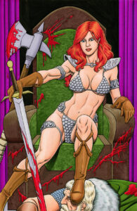 Red Sonja in color