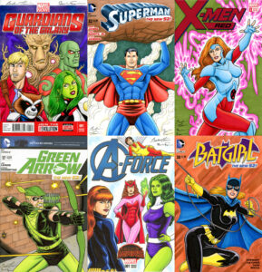 Examples of sketch covers.